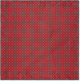 Gucci Memorial print silk pocket square