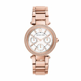Michael Kors Women's Analog Quartz Watch with Stainless Steel Strap MK5616