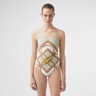 Burberry Archive Scarf Print Swimsuit