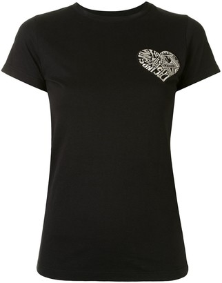 Paule Ka heart detail T-shirt