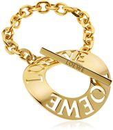 Loewe Cutout Logo Toggle Bracelet