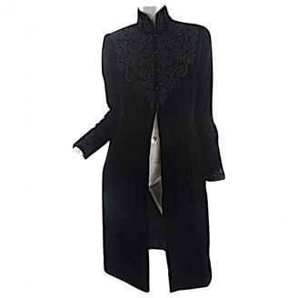 Ungaro Black Velvet Coats