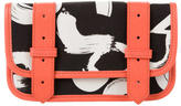 Proenza Schouler PS1 Leather-Trimmed Wallet