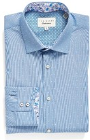 Ted Baker Men's Endurance Trim Fit Dot Dress Shirt