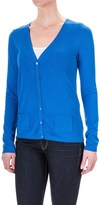 Specially made Rayon Pocketed Cardigan Sweater - V-Neck (For Women)