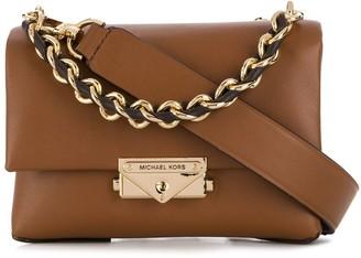 MICHAEL Michael Kors clasp detail leather tote bag