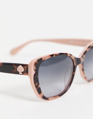 Kate Spade augusta animal print sunglasses