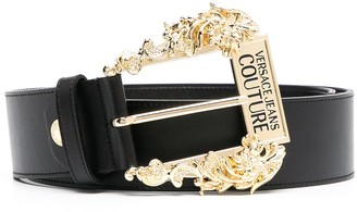 Versace Jeans Couture Baroque Buckle Belt