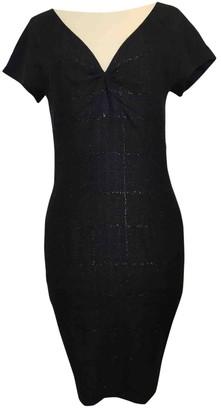 SET Blue Wool Dress for Women