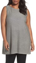 Eileen Fisher Plus Size Women's Tencel & Wool Sleeveless Tunic