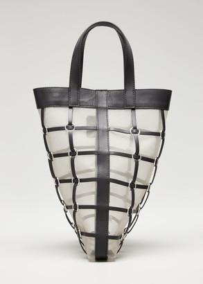 3.1 Phillip Lim Billie Mini Twisted Cage Tote Bag
