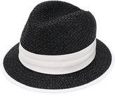Eleventy trilby hat - women - Raffia - M