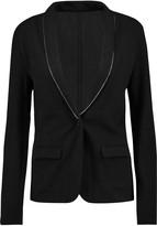 Majestic Chain-trimmed merino wool blazer