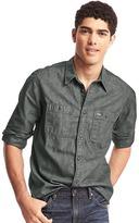 Gap Iconic chambray worker shirt