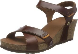 Panama Jack Women's Vieri Clay Ankle Strap Sandals