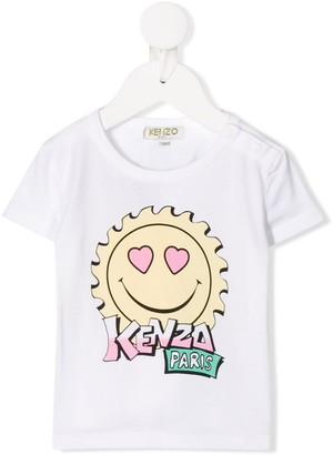 Kenzo Kids printed logo T-shirt