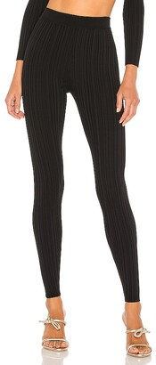 Michael Costello x REVOLVE Knit Ribbed Leggings