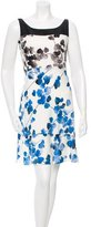 Narciso Rodriguez Floral Print Silk Dress w/ Tags