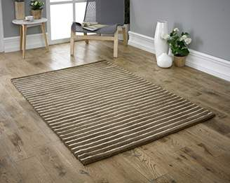 Camilla And Marc Coralie Hand Made Rug, Brown, 120 x 170 cm