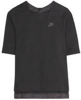 Nike Tech Fleece cotton-blend top
