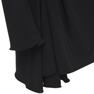 Thierry Mugler One Sleeve Crepe Jersey Mini Dress