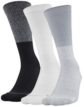 Under Armour 3-Pair Crew Socks