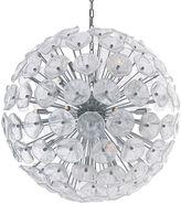 One Kings Lane Fiori 28-Light Pendant, Chrome