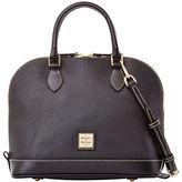 Dooney & Bourke Zip Zip Pebbled Leather Satchel
