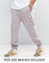 Puma PLUS Logo Joggers In Gray Exclusive To ASOS 57533101