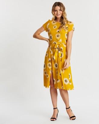 Dorothy Perkins Daisy SS Split Midi Dress