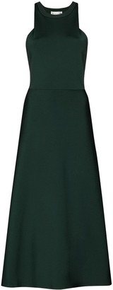 Victoria Beckham Racerback Midi Dress