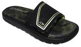 Champion Boys' Gavyn Cushion Slide Sandals Black