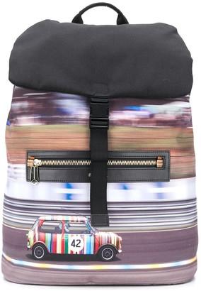 Paul Smith Car Print Backpack