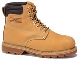 FidLansky Apparel Men's Construction Steel Toe Boots Genuine Leather Short Engineer, Insulated and water Resistant Nubuck shoes Sizes 7-13