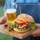 Williams-Sonoma Stuffed Hamburger Press with Lifter