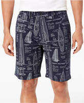 """Tommy Hilfiger Men's Theodore Graphic-Print 9"""" Shorts"""