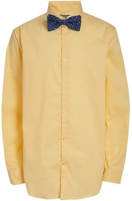 Van Heusen Boys 10-20 Husky Button-Up Shirt & Bow Tie Set
