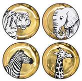 Jonathan Adler Animalia Coasters, Set of 4