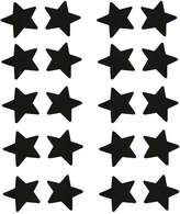 C-YOUNG 20pcs Women Adhesive Nipple Cover Disposable Lingerie Pasties Star