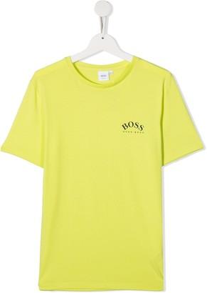 Boss Kidswear TEEN logo-print T-shirt