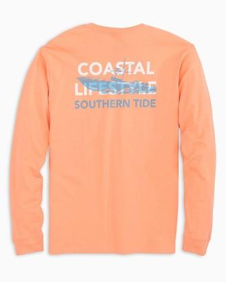 Southern Tide Fishing Boat Long Sleeve T-Shirt