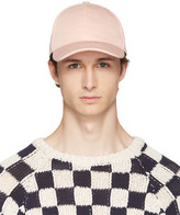 Acne Studios Pink Camp Salt Cap