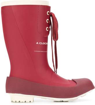 Undercover A Clockwork Orange rain boots