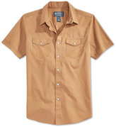 American Rag Men's Solid Short-Sleeve Shirt