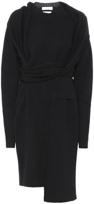 Bottega Veneta Asymmetric wool dress