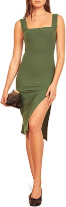 Reformation Cassi Sheath Dress