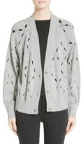 Alexander Wang Women's Argyle Stitch Cardigan