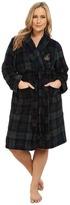 Lauren Ralph Lauren Plus Size Folded So Soft Terry Short Robe