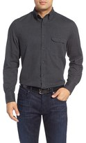 Nordstrom Herringbone Sport Shirt (Big)