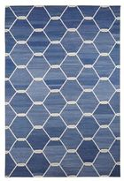 Madeline Weinrib Chi Chi Kari Cotton Carpet-BLUE